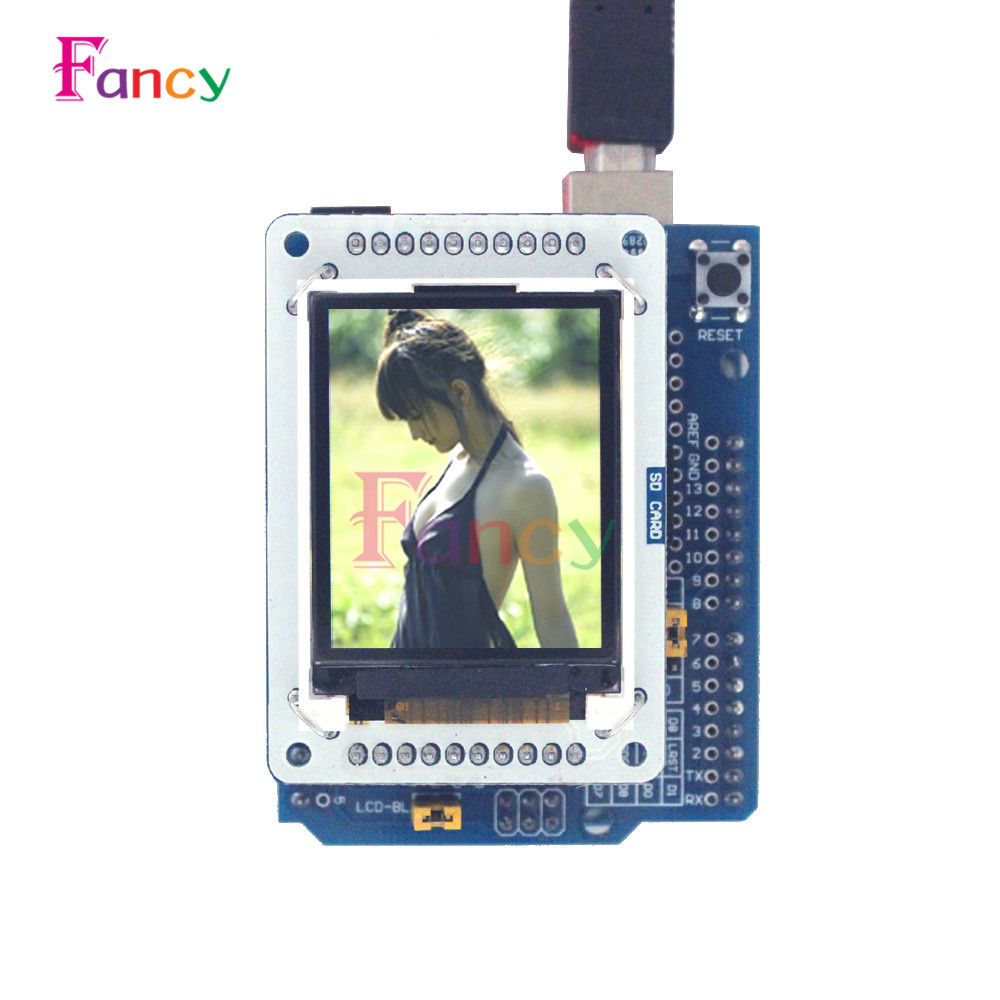 TFT LCD display Shiled Adapter Board For Arduino Esplora 1.8 inch TFT Display Module Hot Sale