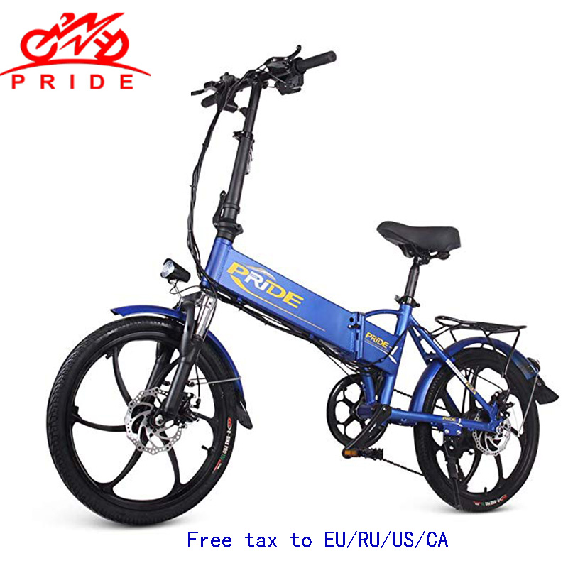 20inch Electric bike 48V12.5A Lithium Battery Aluminum Alloy Folding electric Bicycle 350W Powerful Mountain /Snow/ city ebike