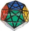 Mf8 vire canto Dino - dodecaedro Plastic Magic Cube Puzzle Puzzle brinquedo cubo mágico Twisty cérebro Teaser preto venda quente