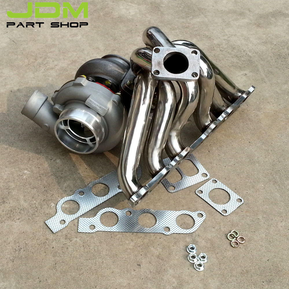Exhaust manifold turbocharger gt water cooled turbine ar