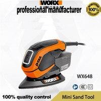 شحن مجاني WX648 أداة تلميع الخشب تصدير جودة CCC مرت وتسليم سريع للأثاث سطح عمل الخشب-في ماكينات سنفرة من أدوات على