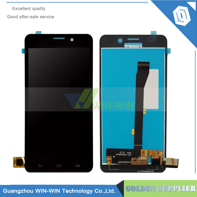 Black For Philips Xenium V526 LCD Display + Touch Screen Digitizer Glass For Philips v526 lcd Assembly