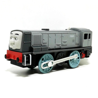 X131 Electric Thomas And Friend Dennis Trackmaster Motorized Train Engine Children Children Gift Plastic Toys