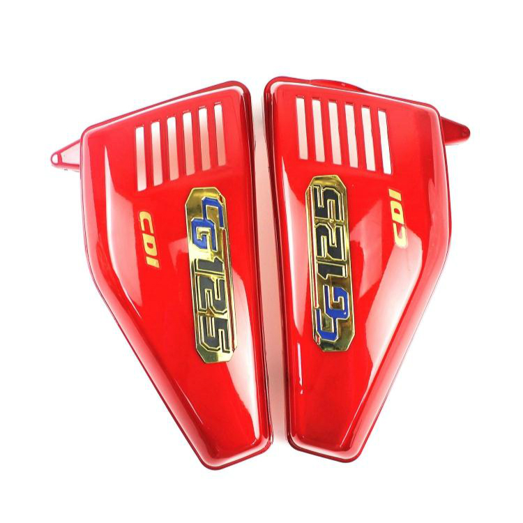High quality 1 Pair Right & Left Frame Side Covers Panels for cg125 parts, cg125 motorcycle parts high quality 1 pair right