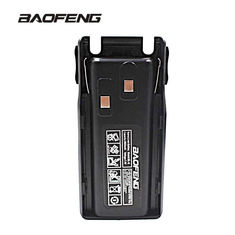 UV-82 Capacité talkie walkie batterie 2800 mAh pour deux-way radio BF-UV82 batterie deux Accessoires de radio bidirectionnelle