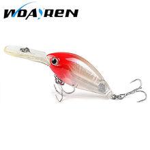 1pcs Wobbler Fishing lure Crank bait  3d EyeTackle Swim bait 16g 9.5cm Bass Fishing Lures 6 Colors fishing tackle FA-184