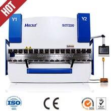 HARSLE CNC hydraulic sheet metal press brake benders stainless sheet cnc bending machine for sale