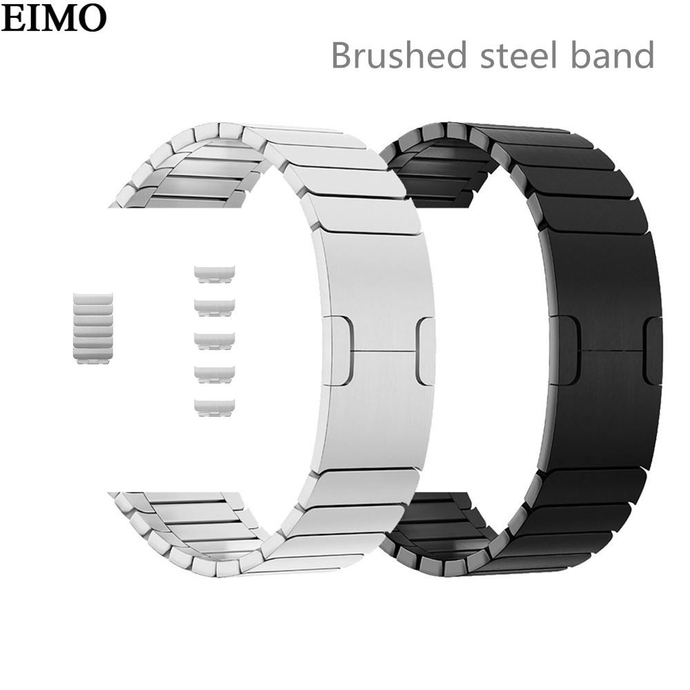 EIMO Strap for Apple Watch Band 42/44mm 38/40mm Stainless Steel Link Bracelet Wrist Watchband iwatch 4 3 2 1 Removable Bands sinobi lady s stainless steel band quartz wrist watch w 3 watch bands cases silver 1 x 626
