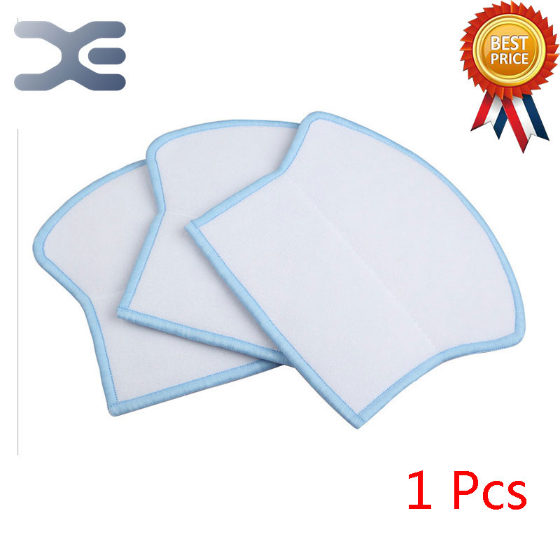 High Quality Ecovacs Vacuum Cleaner Parts Sweeping Machine Accessories Mop Cloth Cloth Cleaning Cloth 12pcs lot high quality robot vacuum cleaner wet mop hobot168 188 window clean mop cloth weeper vacuum cleaner parts