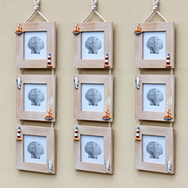 multi frame photo frame hanging wall bois picture frames para family gift home studio art