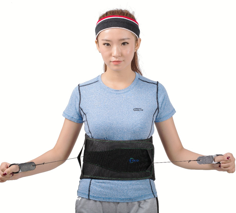 HKJD Lumbar Belt Comfortable Lumbar Orthosis Waist Support Waist Belt with Pulley System Bone Care одежда для йоги iyengar institute of iyengar yoga