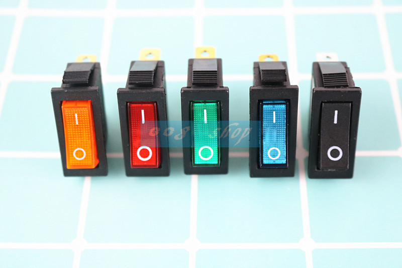 On/Off 3Pin Rectangle Long Rocker Switch with Waterproof Cover Car Dash SPST KCD3 1pc ols 12v dc 25a on off rocker switch ip65 waterproof 3pin spst led illuminated