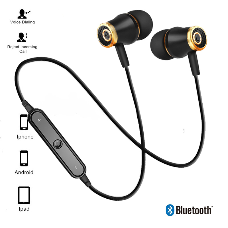 Sport Bluetooth Earphones Wireless Headphones Running earphone Stereo Super Bass Earbuds Sweatproof With Mic Headset hot sale 4 colors sport in ear earphone stereo running headset with super bass waterproof ipx5 earbuds hifi handsfree with mi