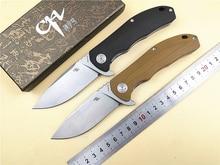 CH складной нож CH3504 G10 ручка D2 Лезвие Керамический шариковый подшипник Открытый походный нож Охота Туризм Рыбалка EDC ручной инструмент