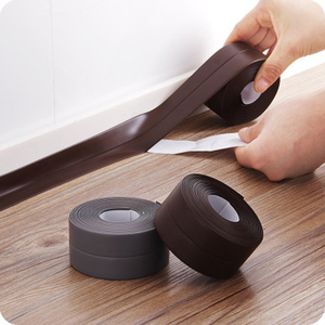 PVC Material Kitchen Bathroom Waterproof Wall Sealing Tape Mold Proof Self Adhesive Sealing Sticker Durable Use 3.2mx3.8cm/2.2cm(China)