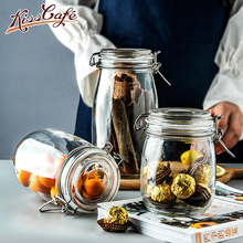 Coffee Beans Storage Glass Sealed Cans Food Jar Spice Teas Candy Preservation Bottle Kitchen Tools