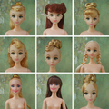 Quality Doll Head For Barbie Dolls / Doll Body Moveable Joints doll naked body or head for girl toy gift