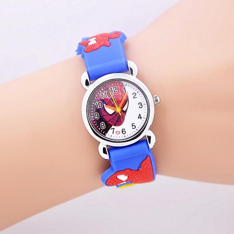 New 206 Fashion <font><b>Spider</b></font> <font><b>man</b></font> girl's boy <font><b>quartz</b></font> <font><b>watch</b></font> <font><b>kids</b></font> cute Children's cartoon <font><b>watches</b></font> Jelly <font><b>watch</b></font> <font><b>kids</b></font> hour relogio relojes