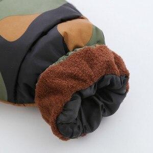 Image 3 - CROAL シェリー 80 120 センチ子供の冬ジャケット十代の少女暖かい冬ベビーパーカーのための迷彩幼児オーバーコート
