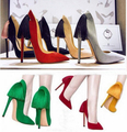 New brand same design 2015 women sexy tassel 11cm super high heels pumps lady elegance party shoes woman plus size