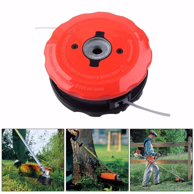 Tool Parts New Arrival Universal Speed Feed Line Trimmer Head Weed Eater For Echo For Stihl ABS Home Improvment 19MAY13 1