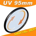 Drop Shipping Digital Boy 95mm filtro polarizador Ultra-Violet UV lens filter For Canon For Sony For Nikon Digital Camera z1