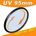 Envío de la gota Digital Boy 95mm filtro polarizador UV Ultra-Violet filtro de la lente Para Canon Para Sony Para Nikon Digital Cámara z1