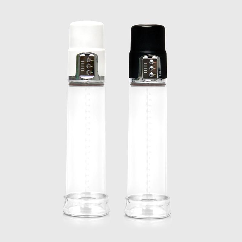 Electric Male Penis Vacuum Pump Enlarger Enlargement Enhancer Pro extender Cock Pump Strong Suction Pressure for Valve Control
