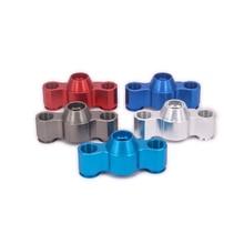 2PCS Aluminum Steering Block Knuckle For Rc Hobby Car 1/10 Traxxas E-Revo Summit Slayer Maxx Revo3.3 5334 ERO-001 3903 3905