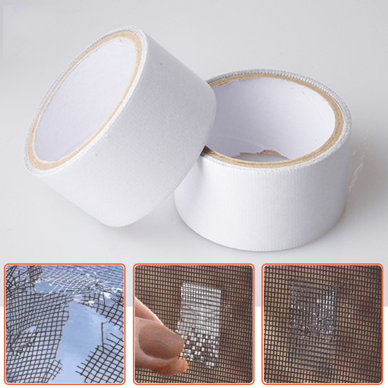 Window Repair Tape Window Screening Repair Sticker Anti-Insect Fly Bug Door Mosquito Screen Net Repair Tape Patch Adhesive Tape