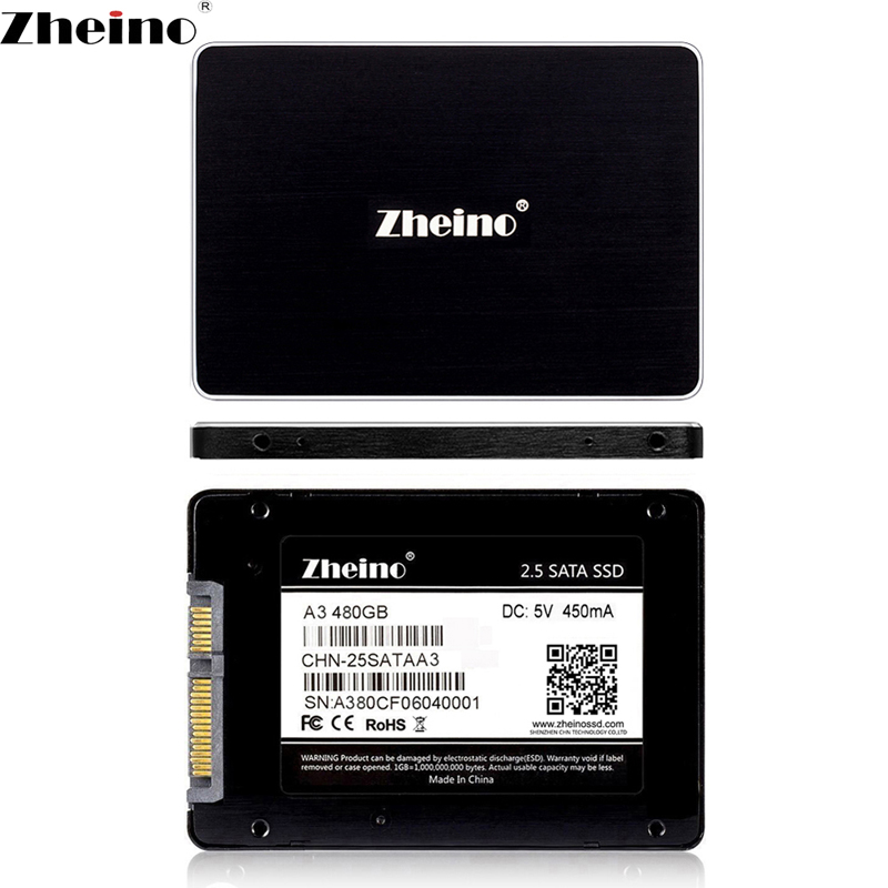 Zheino SATA3 SSD 480GB 512GB SSD High speed 2.5 inch Hard Disk 7MM Internal Solid State Drive SSD For PC Laptop Desktop цена 2017