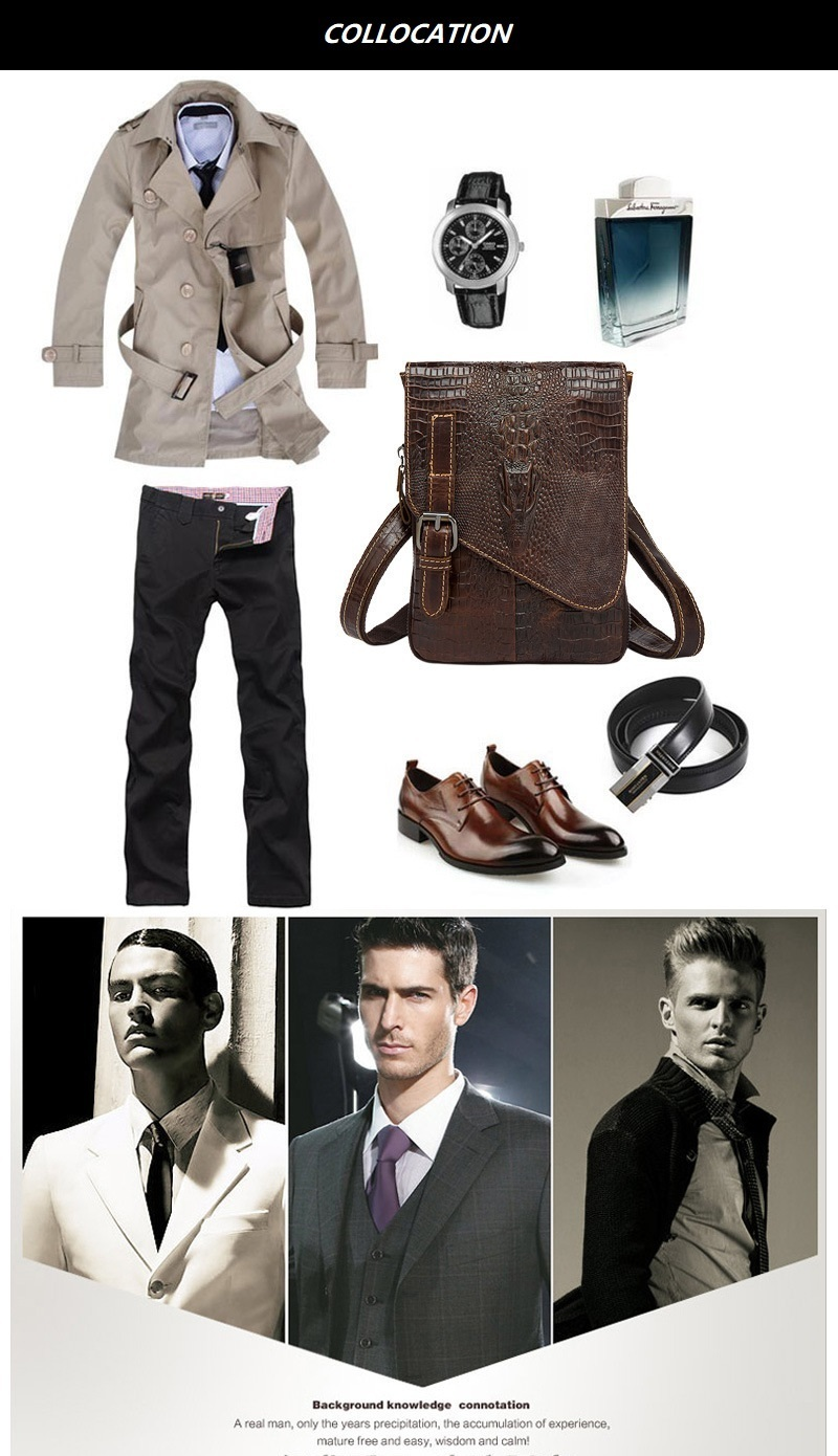 HTB1VFeQl2DH8KJjy1Xcq6ApdXXaY Men Crocodile Classic Briefcase Genuine Leather Business Office Ipad Bag Lawyer Handbag Portfolio Satchel Alligator Shoulder bag