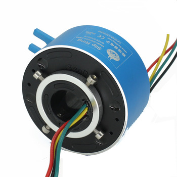 4 circuits 10A of connector slip ring with hole size 25.4mm of through bore slip ring