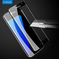 X-уровня 9 H 3D 0.2 мм полный Экран Высокое разрешение тонкий технологии для Samsung Galaxy S7 S7 Edge закаленное стекло