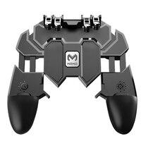 Все в одном мобильных игр геймпад Fortnit бесплатно огонь PUGB PUBG мобильный игровой контроллер PUBG геймпад джойстик металла L1 R1 триггер