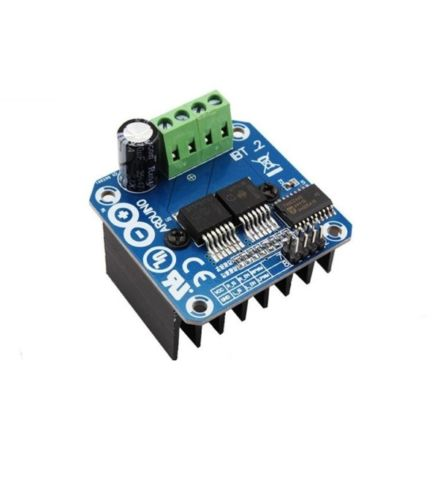 Double BTS7960B DC 43A Stepper Motor Driver H-Bridge PWM For Arduino smart Car dual mc33886 motor driver board dc 5v 2a for smart car raspberry pi a b 2b 3b