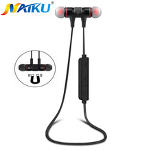 Bluetooth Auriculares Sweatproof NAIKU M9 Inalámbrico En La Oreja Los auriculares de Reducción de Ruido con Micrófono Estéreo Bluetooth Headset