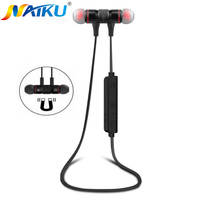 Bluetooth Headphones NAIKU M9 Wireless In Ear Noise Reduction Earphone With Microphone Sweatproof Stereo Bluetooth Headset