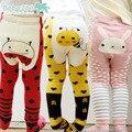Outono inverno calças do bebê da menina da criança leg warmer Animais Padrão Calças do bebê PP Calças de Fundo bebês roupas de bebê menino menino pant