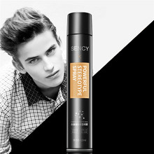420ml Hair Spray Fashion Men Gel Hair Model Long-lasting Random Style Gel Power Spray Harajuku Barber(China)