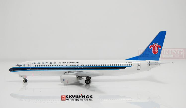 10604* Phoenix China Southern Airlines B-5446 1:400 B737-800 commercial jetliners plane model hobby