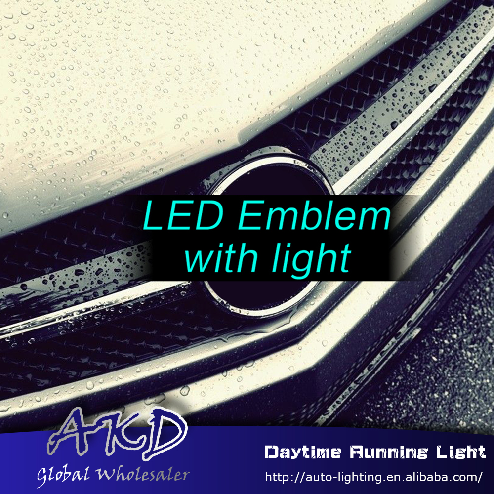 Emblem-Light W204 C200 Mercedes-Benz C300 for Led C260 C-Class Car-Styling Embelem C180