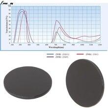 Ultraviolet UV Band Pass Filter Flashlight Diameter 20.5mm Thickness 1.5mm