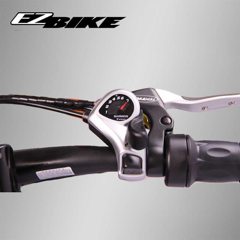 EZBIKE 26 pulgadas bicicleta de montaña eléctrica de nieve batería de litio 500w Motor Fat Ebike 20 neumáticos de alta velocidad bicicleta eléctrica sin escobillas