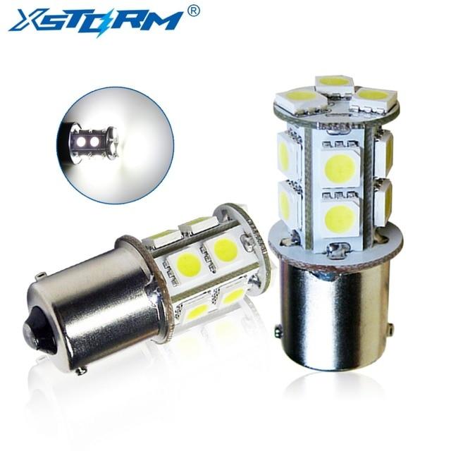 2pcs 1156 BA15S 13 SMD White LED Bulb Lamp P21w R5W Led Car Bulbs Turn  Signal