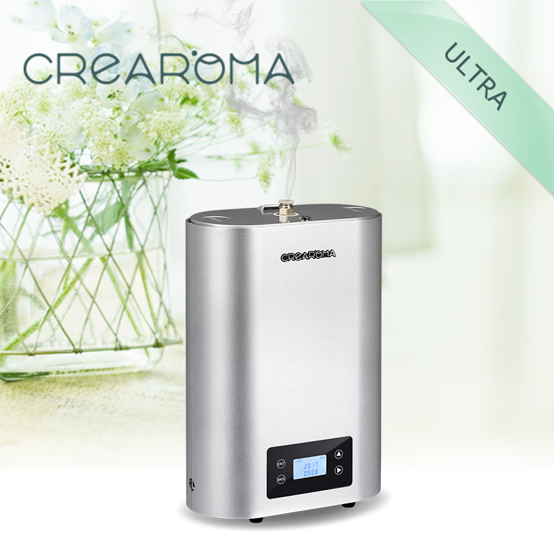 Crearoma high quality aromatherapy diffuser electric aroma diffuser for Commercial Building crearoma 60ml bottle aluminum alloy aroma oil diffuser