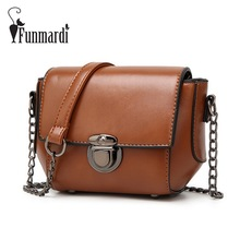 Luxury Leisure chain bag Fashion PU leather messenger bag vintage leather Ladies bag simple women's shoulder bag WLHB1541