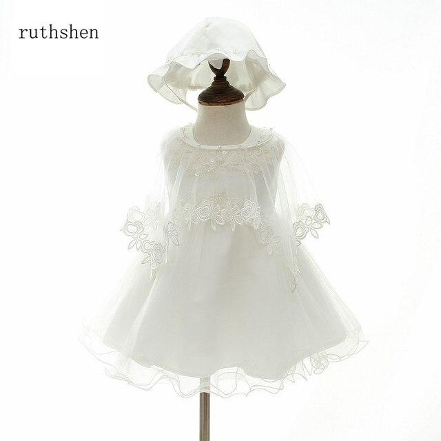 Ruthshen New Arrival Comunhão Santamente Vestidos Vestido Sem Mangas Vestidos de Festa Apliques Crianças Pageant Dress For Little Flower Girl