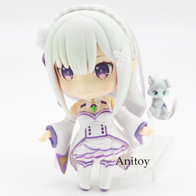 Re:Life in a different world from Zero Emilia 751 Nendoroid Emilia Doll PVC Figure Collectible Model Toy 9cm 1