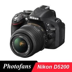 كاميرا نيكون D5200 DSLR بمجموعات عدسات 18-55 مللي متر (جديد)